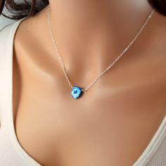 NEW Dazzling Blue Necklace Keishi Pearl Genuine by livjewellery, $44.00 https://www.etsy.com/listing/186083865/new-dazzling-blue-necklace-keishi-pearl?ref=shop_home_active_1