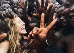 I want this to be me someday. I have felt ever since 3rd grade that Jesus has called me to go to Africa and help people there. I don't know when, how, or what I'd do there, but this picture is AMAZING