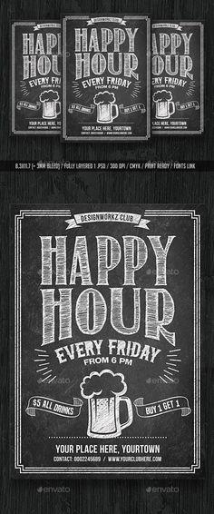vintage pub flyer download chalkboard flyer pinterest flyer