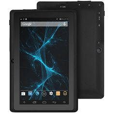 2015 New Release ProntoTec Axius Series Q9 7 Inch Quad Core Android 4.4 KitKat Tablet PC, 800 x 480 Pixels Cortex A7 Processor, 4GB ROM, Dual Camera, G-Sensor, Google Play Pre-loaded (Black) - http://www.computerlaptoprepairsyork.co.uk/new-product-releases/2015-new-release-prontotec-axius-series-q9-7-inch-quad-core-android-4-4-kitkat-tablet-pc-800-x-480-pixels-cortex-a7-processor-4gb-rom-dual-camera-g-sensor-google-play-pre-loaded-black