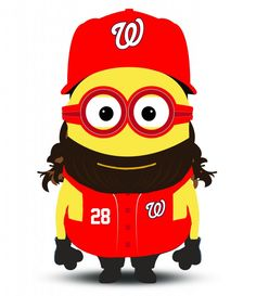 Meet Max Scherzer, Bryce Harper and the MLB all-star Minions - The Washington Post