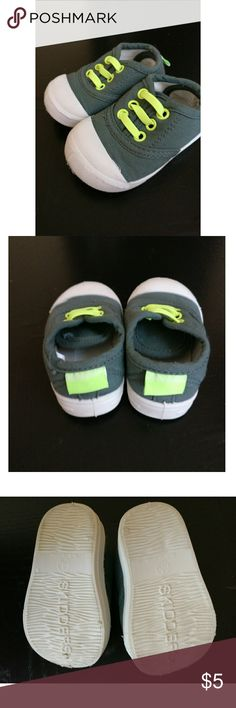 Flexible Baby Shoes Flexible Baby Shoes in size 4 (12M). NWOT Skidders Shoes Baby & Walker