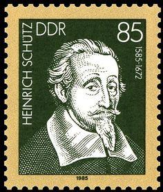 Heinrich Schutz stamp - Google Search