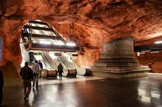Metro Caverns . . . . . #metro #station #beautifulmetrostations #stockholm #sweden #oldtravels #2012 #wanderlust