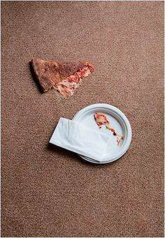 As much as we love pizza, those grease stains…not so much. Use dry cleaning fluid to clean grease stains on carpet. Don't apply dry cleaning fluid directly to the carpet. Instead, apply it to a cloth and work from the outside of the stain toward the center.