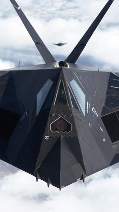 F117A Stealth Fighter.......which really was just a small bomber....should have been B117A if you ask me. lol