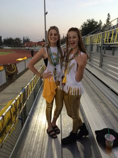 High School Football game outfits