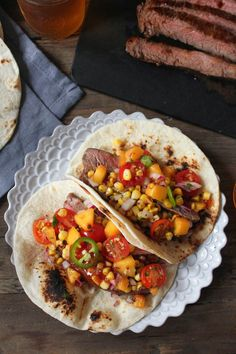 Halibut tacos, Watermelon salsa and Grilled halibut on Pinterest