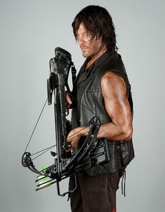 Norman Reedus as Daryl Dixon photographed by Dylan Coulter for Entertainment Weekly 2014
