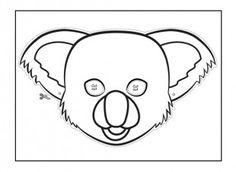 possum magic mask template found at. Black Bedroom Furniture Sets. Home Design Ideas
