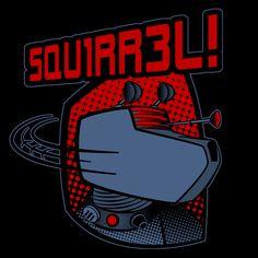Squirrel geek shirts
