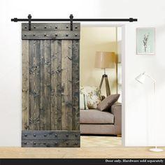 Sliding Door Track, Interior Sliding Barn Doors, Diy Sliding Barn Door, Diy Door, Diy Barn Door Plans, Rustic Hardware, Barn Door Hardware, Barn Door Designs, Rustic Doors