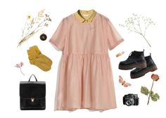 """flower picker"" by tosia-8 on Polyvore featuring moda, StyleNanda, Hstyle i Clips"