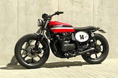 1981 Kawasaki GPZ550 - Motor Works - Inazuma Cafe Racer