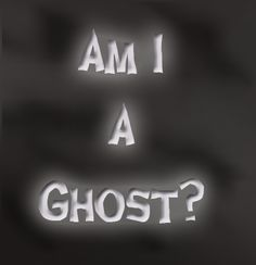 Am I a Ghost? An Unusual True Ghost Story                So, who's haunting who?