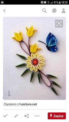 Quilling Flowers, Quilling Ideas, Quilling Patterns, Quilling Cards, Quilling Designs, Paper Quilling, Diy And Crafts, Paper Crafts, Paper Folding