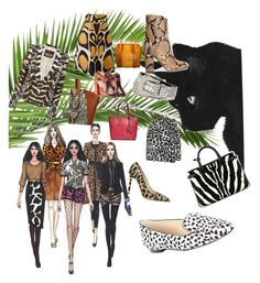 """#21 Wild at heart"" by ruby-darke ❤ liked on Polyvore featuring New Look, Burberry, Giles, L'Autre Chose, Iris & Ink, Leatherbay, Dries Van Noten, Amiee Lynn, Roberto Cavalli and Karl Lagerfeld"