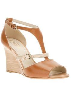 TOD'S Wedge Sandal