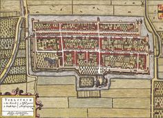 Yselsteyn - Kaart van Joan Blaeu - 1652 (thanx to Gerard Boer for sharing it in a group on Facebook)