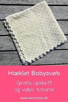 crochet shell stich baby blanket, a free crochet pattern. Find more ideas in crochet baby blanket. Crochet Baby Blanket Free Pattern, Crochet Stitches Patterns, Baby Knitting Patterns, Stitch Patterns, Love Crochet, Learn To Crochet, Knit Crochet, Crochet Hats, Crochet Flowers