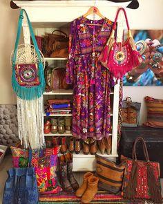 Todays boho closet Bella Bell maxi dress tulleandbatiste turquoisehellip
