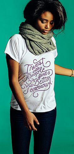 Each purchase here helps prevent girls from being subject to sexual violence, abuse, and rape. ► http://www.sevenly.org/?cid=ShrPinterestGirlUp