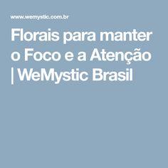 Florais para manter o Foco e a Atenção | WeMystic Brasil