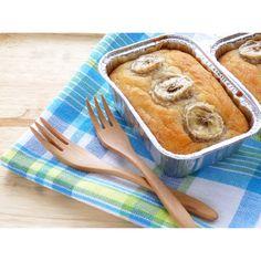 クミタス レシピ バナナとココナッツオイルの米粉ケーキ
