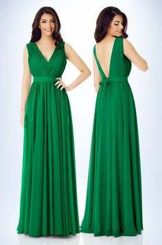 Get all eyes on you wearing our green Kora dress. Featuring a veil fabric with a flattering V bar neckline, backless design and floor sweeping length. Maxi Dresses, Bridesmaid Dresses, Formal Dresses, Wedding Dresses, Veil, Korea, Backless, Neckline, Floor