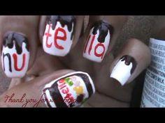 NutellaNailArt - YouTube