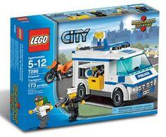 Lego City, Vankienkuljetus  Tavaramerkit: LEGO City, Artikkelinumero: 7286 € 15,90