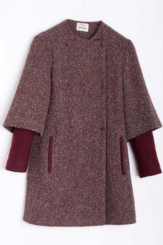 50 abrigos perfectos para el invierno. Lentejita. © Cortesía de la firma.