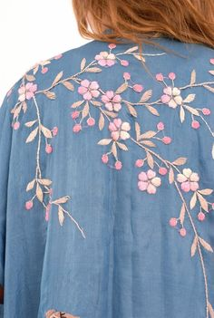 Inspiration for my next project...now to find a garment to embroider.