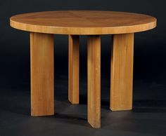 AXEL EINAR HJORTH Table modèle «Birka» Chêne Édition Nordiska Kompaniet