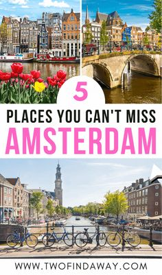 What Not To Miss in Amsterdam, The Netherlands I Things to do in Amsterdam I Amsterdam Itinerary I What to Visit in Amsterdam I Amsterdam Attractions I Alternative Things to Do in Amsterdam I How to Visit Amsterdam I Tips for Visiting Amsterdam I Tips and Tricks for Amsterdam Travelers I Best Things to See in Amsterdam I Hidden Gems in #amsterdam #thenetherlands #holland Europe Travel Tips, Travel Abroad, Spain Travel, European Travel, Travel Guides, Amsterdam Attractions, Amsterdam Itinerary, Amsterdam Things To Do In, Visit Amsterdam