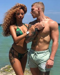 Flawless interracial couple #love #wmbw #bwwm #swirl #lovingday #relationshipgoals