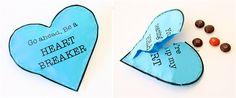 Heart Breakers Valentines .... lol! So cute :)