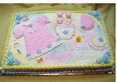 Baby Shower Sheet Cake Decorations   Bing Images