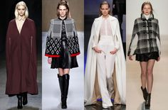 Fall Winter 2013 Fashion Trends Capes