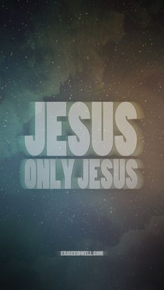 iPhone background #poster #quote #jesus