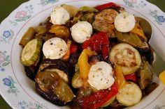 Σαλάτα με ψητά λαχανικά/Roasted Vegetable Salad