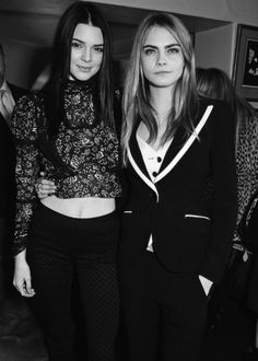 As Kendall Jenner makes the Top 50 models list and Cara Delevingne doesn't, FEMAIL investigates whether 2015 will be the year that the American tops the London-born supermodel's success. Poppy Delevingne, Cara Delevingne Style, Kendall Jenner Mode, Kendall Jenner Outfits, London Fashion Weeks, Anja Rubik, Rosie Huntington Whiteley, Kardashian Jenner, Kendall Kardashian