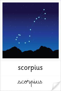 Constellation du Scorpion