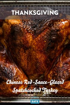 There's no way around it: This is a highly atypical treatment for a Thanksgiving roast turkey, and it may not be for the traditionalists in your crowd, but man, is it ever tasty.