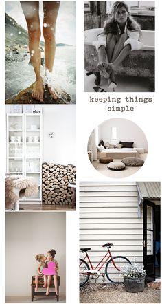 keeping things simple | stylelifehome.com.au |