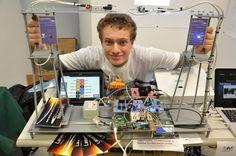 E' italiano il più giovane scienziato migliore d'Europa.Ha solo 16 anni e la sua invenzione rivoluzionerà il mondo http://jedasupport.altervista.org/blog/scienza/valerio-pagliarino-scienziato-laserwan/