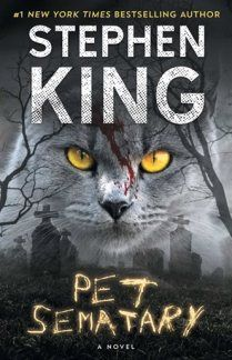 Pet Sematary by Stephen KingYou can find Stephen king books and more on our website.Pet Sematary by Stephen King Pet Sematary, Bangor, Horror Books, Horror Movies, Horror Art, Post Apocalyptic Novels, Stephen King Books, Stephen Kings, Creepy Stories