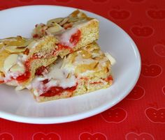 cherry bars...totes making these!  Anything with almonds is healthy! :)