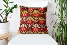 #etsy shop: antique tribal boho kilim pillow cover, vintage kilim pillow, 16x16 bohemian pillow, accent throw pillow, designer sofa couch pillow, luxury #pillow #kilimpillow16x16 #turkishkilimpillow #bohemianpillow #vintagepillow http://etsy.me/2HPENE3