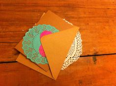 Handmade valentines cards by LittleBOD on Etsy, £1.50